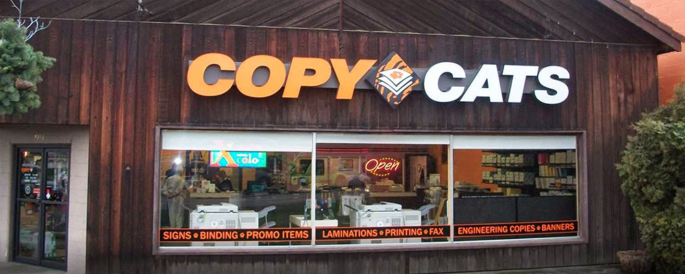 Exterior of McMinnville Copy Cats NW