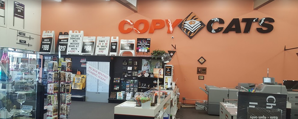 Interior of Copy Cats NW in West Salem
