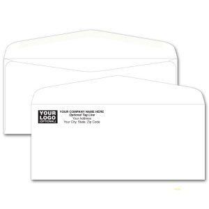 #10 Envelope White
